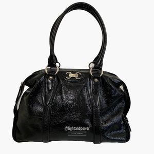 MICHAEL Michael Kors Black Chestertown Satchel EUC